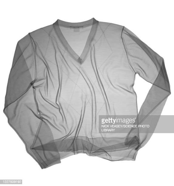 diamond patterned v-neck jumper, x-ray - v neck stock pictures, royalty-free photos & images