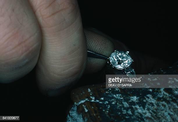 Diamond processing Antwerp Belgium
