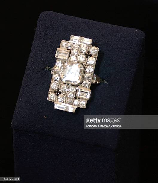 Diamond Right Hand Ring by Fred Leighton during InStyle Magazine and The Diamond Trading Company Kick Off the 2005 Award Season with $30 Million...
