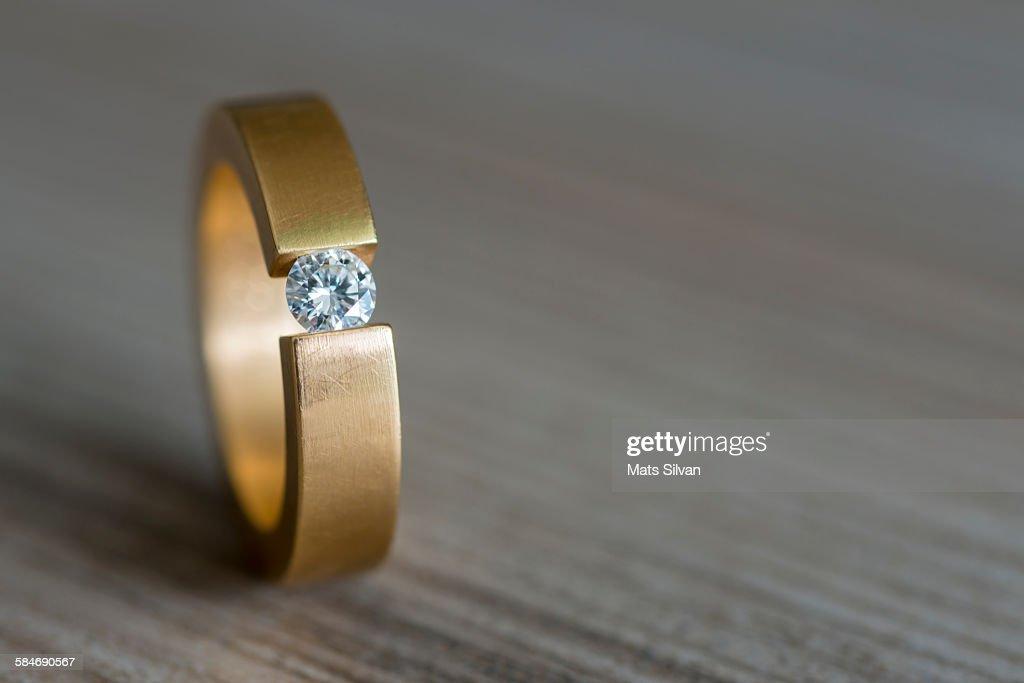 Diamond ring : Stock Photo