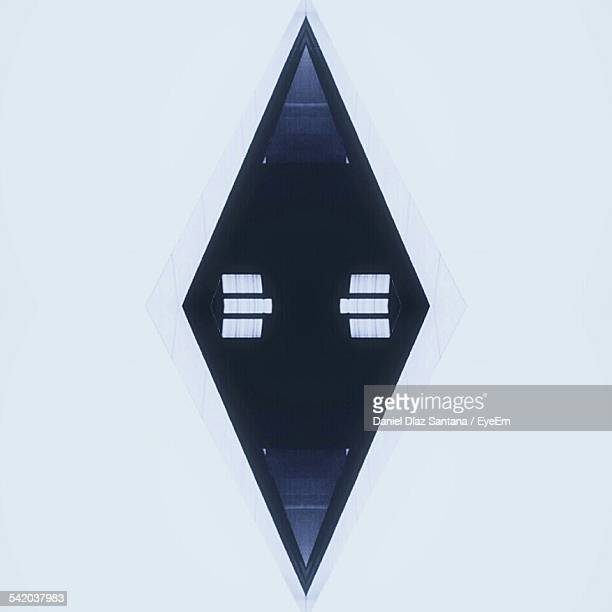Diamond Shape On White Background