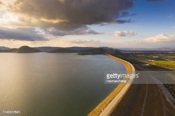 diamond valley lake - reservoir stock pictures, royalty-free photos & images