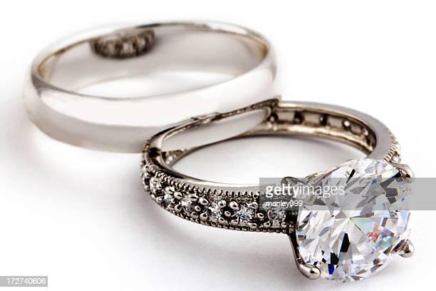 diamond wedding ring and band XXL
