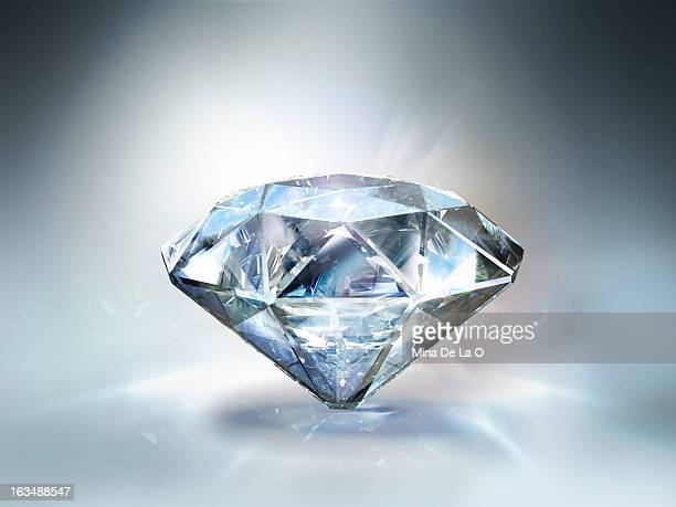 diamond white 01 - diamond gemstone stock pictures, royalty-free photos & images