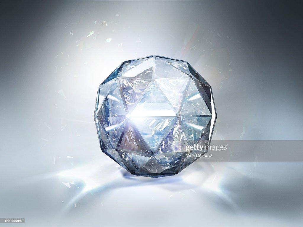 Diamond White 02 : Stock Photo