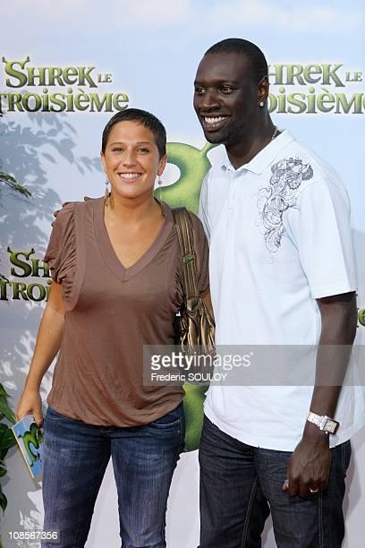 Diam's and Omar in Paris France on June 07 2007
