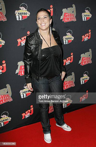 Diam's arrives at the Rex NRJ Cine Awards on October 1 2007 in Paris France
