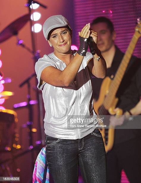 Diam's Performs during the 23rd Victoires de la musique awards ceremony on March 08 2008 in Paris France