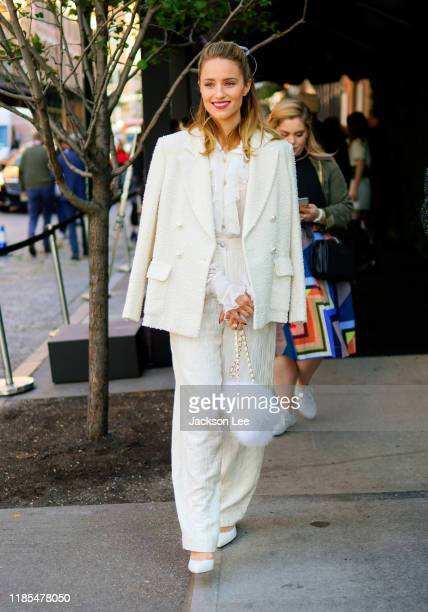 Diana Agron at Tribeca Chanel Women's Filmmaker Luncheon on November 04, 2019 in New York City.