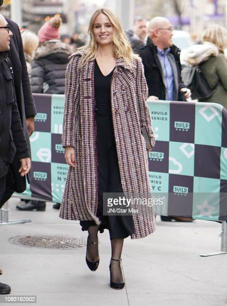 Diana Agron is seen on January 15 2019 in New York City