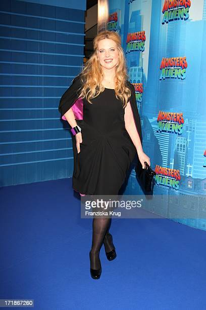 Diana Amft at the Premiere of Monsters Vs Aliens in Colosseum Kino in Berlin on 090309