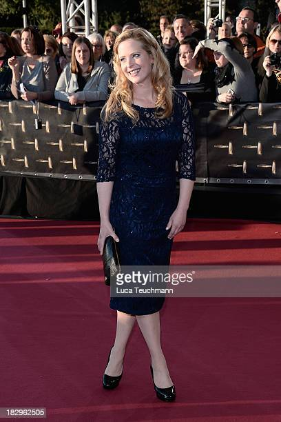Diana Amft attends the Deutscher Fernsehpreis 2013 at the Coloneum on October 2 2013 in Cologne Germany