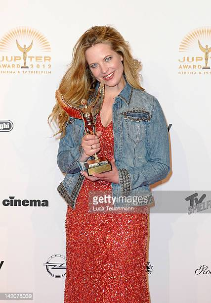 Diana Amft attends the Jupiter Award at the Cafe Moskau on March 29 2012 in Berlin Germany
