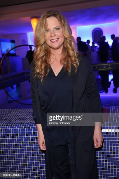 Diana Amft during the ARD advent dinner hosted by the program director of the tv station Erstes Deutsches Fernsehen at Hotel Bayerischer Hof on...
