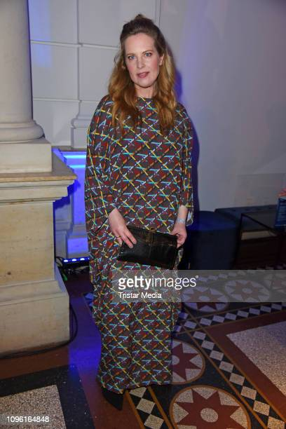 Diana Amft during the Blue Hour Party hosted by ARD during the 69th Berlinale International Film Festival at Haus der Kommunikation on February 8...