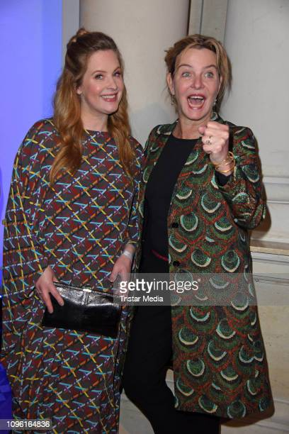 Diana Amft Margarita Broich during the Blue Hour Party hosted by ARD during the 69th Berlinale International Film Festival at Haus der Kommunikation...
