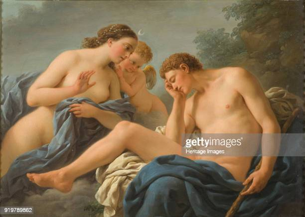 Diana and Endymion 1768 Found in the collection of Nationalmuseum Stockholm