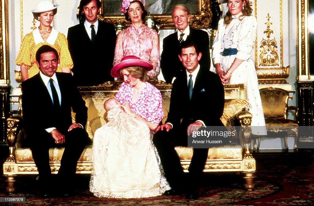 Prince William's Christening - August 4, 1982 : Nachrichtenfoto