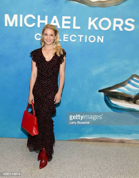 Diana Argon attends the Michael Kors Collection Spring 2019 Runway Show at Pier 17 on September 12 2018 in New York City