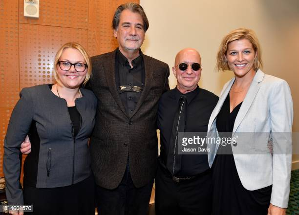 Diana Atkin Scarfo Musicians Richard Leigh and Paul Shaffer and Shannan Hatch arrive at the American Eagle Awards Honoring Crystal Gayle Patti Smith...