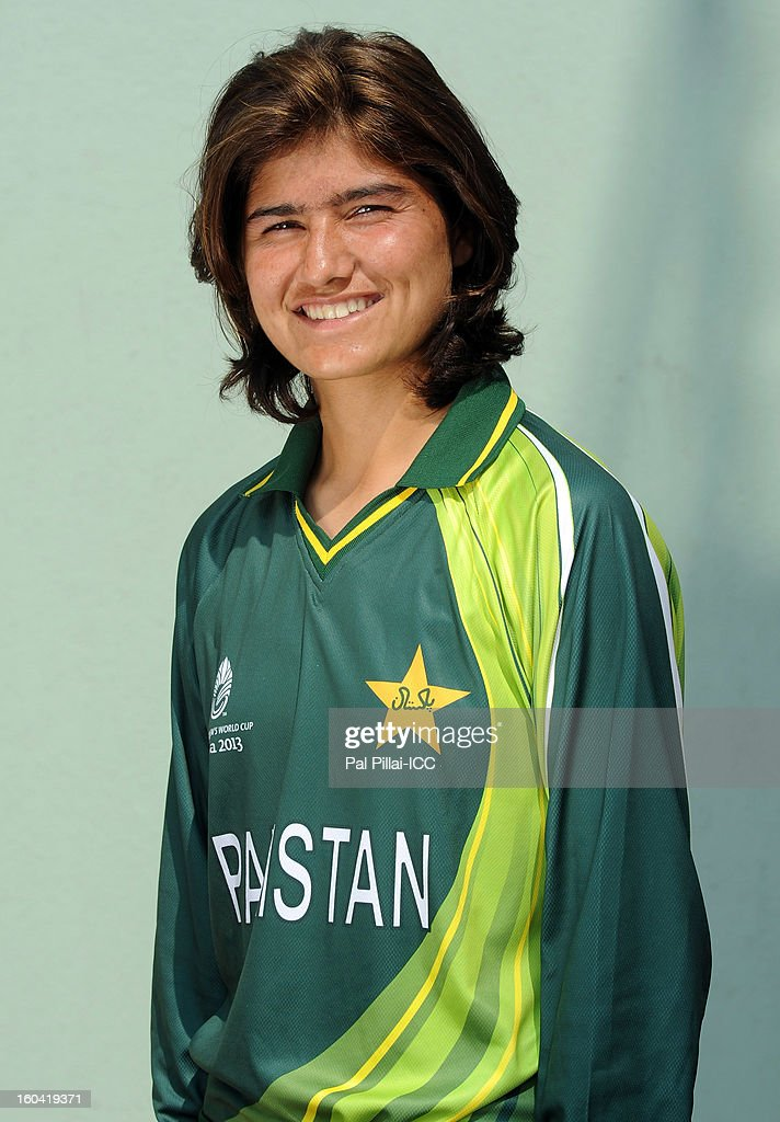 Diana Baig of Pakistan attends a portrait session ahead of the ICC Womens World Cup 2013 at the Barabati stadium on January 31, 2013 in Cuttack, India.