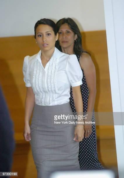Diana Bianchi exlover of Peter Cook attending divorce trial between Cook and Christie Brinkley