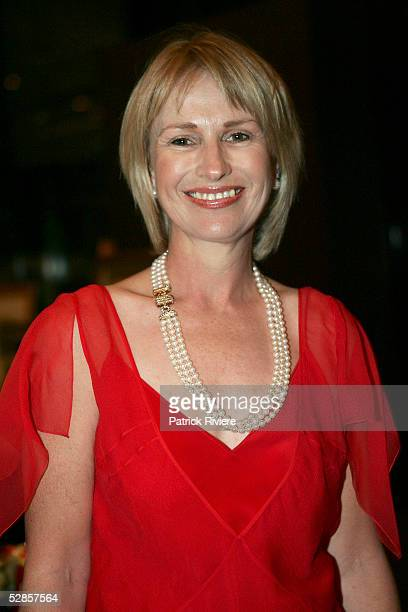 Diana Bond attends the fundraising charity event 'A Night of Pearl and Plonk at the Doltone House on May 17 2005 in Sydney Australia Diana Bond and...