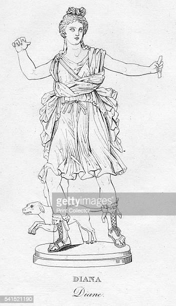 Diana 'c1850 Artist Unknown