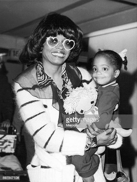 Diana comes to town wearing an eyecatching pair of heartshaped specs American Singer Diana Ross star of the film Lady Sings The Blues arrives at...