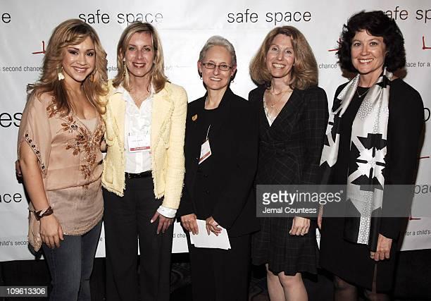 Diana DeGarmo, Wendy Rowden, Lilliam Barrios-Paoli, Lauren Davis and Madeline Boyd
