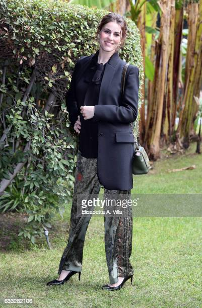 Diana Del Bufalo attends a photocall for 'C'Era Una Volta Studio 1' at Rai Viale Mazzini on February 1 2017 in Rome Italy