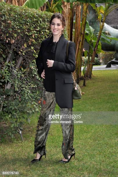 Diana Del Bufalo attends a photocall for 'C'Era Una Volta Studio 1' on February 1 2017 in Rome Italy