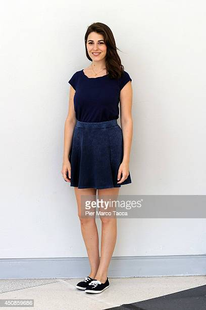 Diana Del Bufalo attends the Delfino Theatre 20142015 on June 19 2014 in Milan Italy