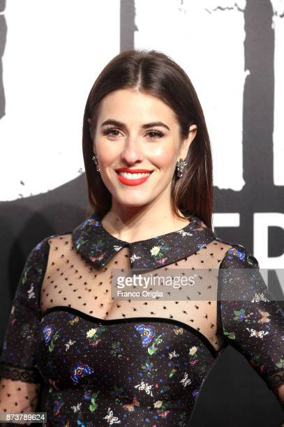 Diana Del Bufalo attends the 'Gomorra' premiere at Ex Dogana on November 13 2017 in Rome Italy