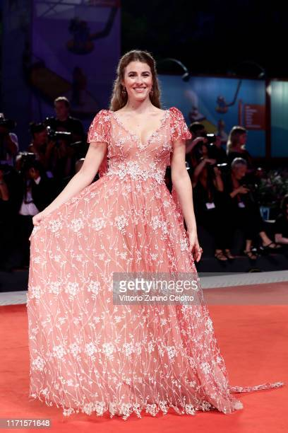 Diana Del Bufalo walks the Filming In Italy red carpet during the 76th Venice Film Festival at Sala Grande on September 01 2019 in Venice Italy