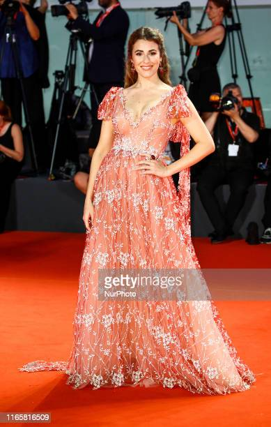 Diana Del Bufalo walks the Kineo Prize red carpet during the 76th Venice Film Festival at Sala Grande on September 01 2019 in Venice Italy