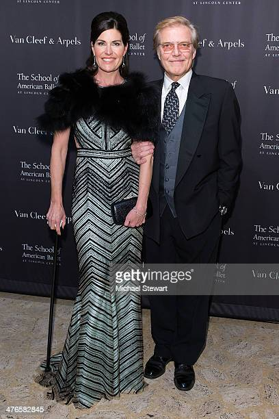 Diana DiMenna and Peter Martins attend the School Of American Ballet's 2014 Winter Ball at David Koch Theatre at Lincoln Center on March 3, 2014 in...