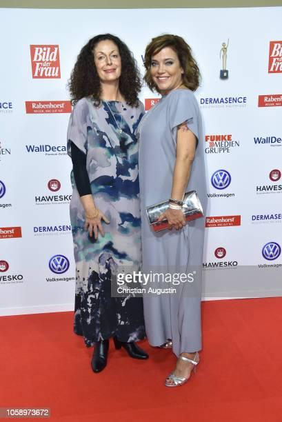 Diana Doko and Muriel Baumeister attend the 'Goldene Bild der Frau' award at Stage Operettenhaus on November 7 2018 in Hamburg Germany