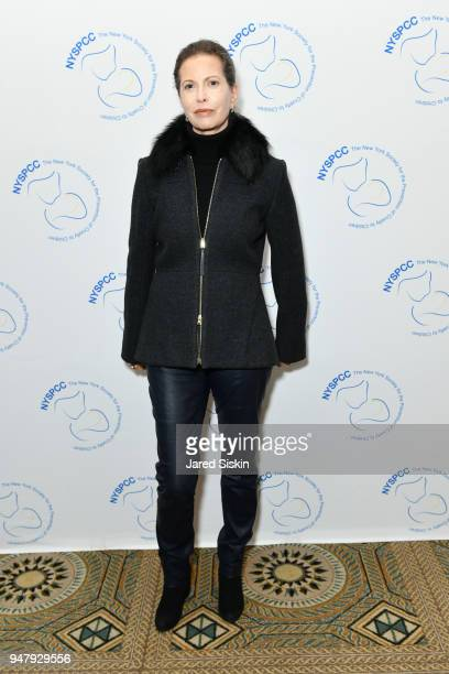 Diana Douglas attends The New York Society for the Prevention of Cruelty to Children's 2018 Spring Luncheon at The Pierre Hotel on April 17, 2018 in...