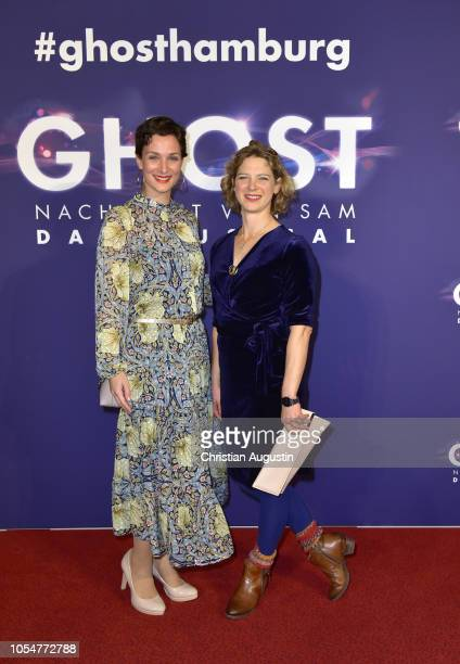 Diana Ebert and Anjorka Strechel attend the premiere of the musical 'Ghost The Musical' at Stage Operettenhaus on October 28 2018 in Hamburg Germany