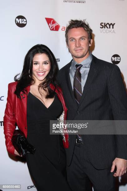 Diana Falzone and Scott Hoskins attend New York Premiere of NEW YORK I LOVE YOU at The Ziegfeld Theatre on October 14 2009 in New York City