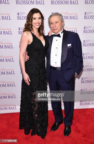 Diana Falzone and Tamer Seckin MD attend Endometriosis Foundation Of America's 10th Annual Blossom Ball on May 08 2019 at Cipriani Wall Street in New...