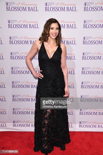 Diana Falzone attends Endometriosis Foundation Of America's 10th Annual Blossom Ball on May 08 2019 at Cipriani Wall Street in New York City