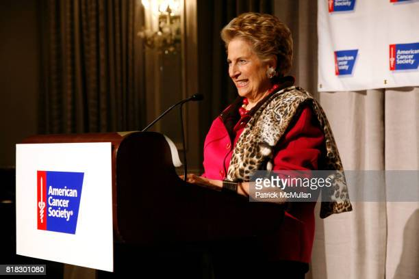 Diana Feldman attends AMERICAN CANCER SOCIETY honors TORY BURCH and DR DEBORAH AXELROD as Mothers of the Year at The Pierre on February 23 2010 in...