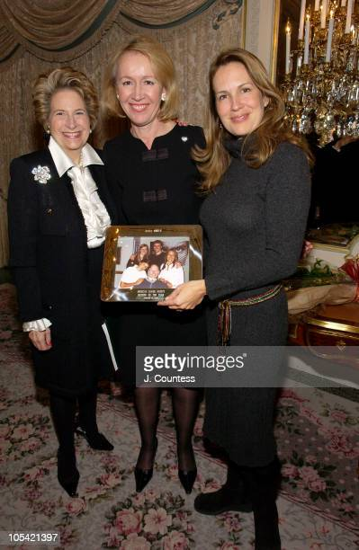 Diana Feldman Chairman of Special Events for the American Cancer Society Libby Pataki First Lady of New York State and Dana Reeve ACS Mother of the...