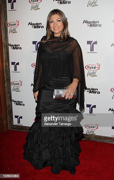 Diana Franco attends screening of Telemundo's Alguien Te Mira at The Biltmore Hotel on September 7 2010 in Coral Gables Florida
