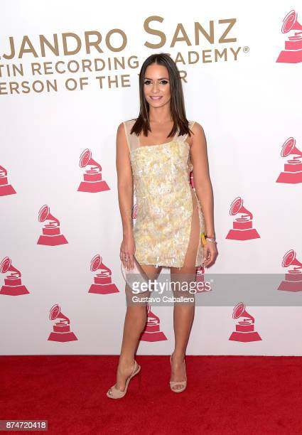 Diana Fuentes attends the 2017 Person of the Year Gala honoring Alejandro Sanz at the Mandalay Bay Convention Center on November 15, 2017 in Las...
