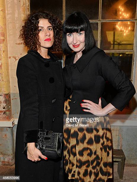 Diana Gomez and Sian Perry attend the Day of the Dead Festival produced by the Mexican Embassy in the UK and supported by Jose Cuervo at Oxo Tower...