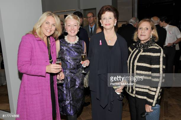 Diana Grecco Elisha Daniels Sandy Krakoff and Nancy Feldman attend REED KRAKOFF Host's Evening to Celebrate THE BREAST CANCER REASEARCH FOUNDATION at...