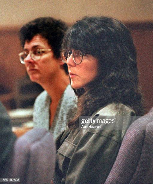 Diana Haun listens to court proceedings during her arraignment Thursday on charges she allegedly murdered Sherri Renee Dally. Her attorney Susan...